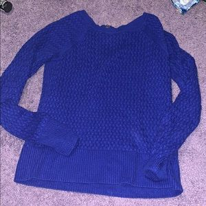 Cute blue sweater from American Eagle